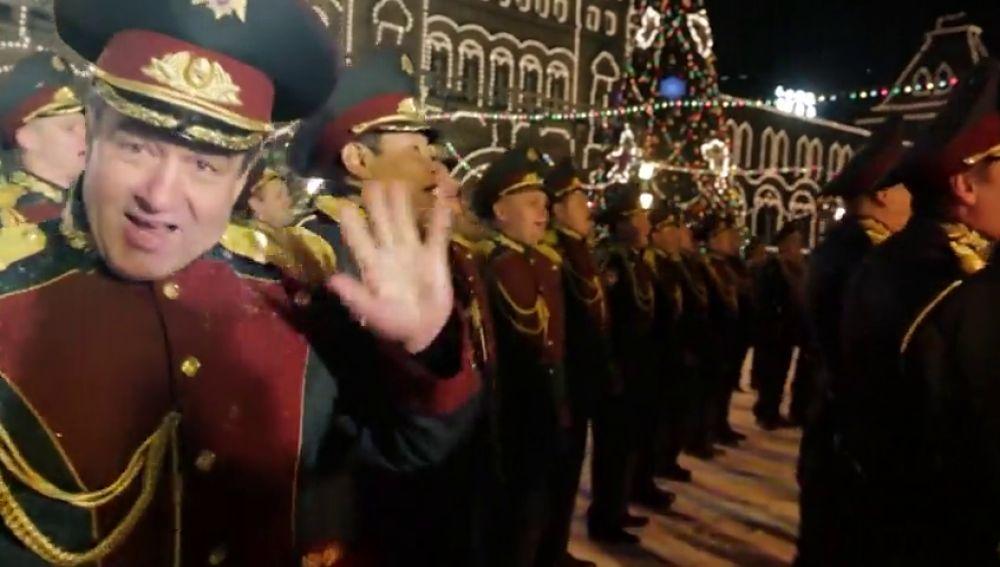 La guardia nacional rusa canta al ritmo de Last Christmas