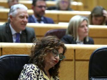 La ministra de Hacienda, María Jesus Montero