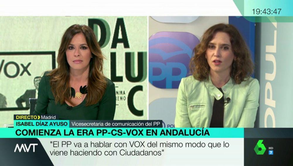 Isabel Díaz Ayuso, vicesecretaria de comunicación del PP