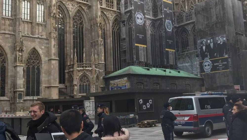 Catedral de San Esteban desalojada