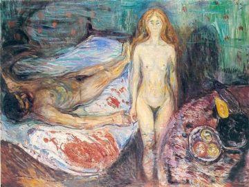 Muerte de Marat, de Edvard Munch