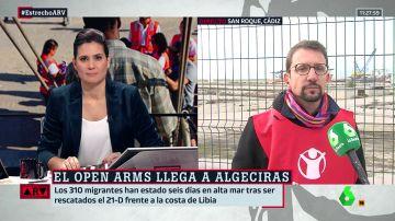 """Vicente Raimundo (Save the Children): """"Los menores están huyendo de situaciones bélicas y de hambrunas. Hay niñas víctimas de la trata"""""""