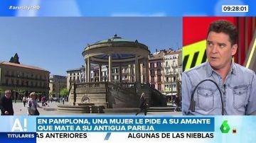 Una mujer le pide a su amante que mate a su pareja en Pamplona