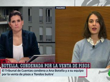 """Rita Maestre, sobre la sentencia contra los fondos buitre: """"No se trata sólo de Ana Botella, algunos de sus altos cargos son viceconsejeros en la Comunidad de Madrid"""""""