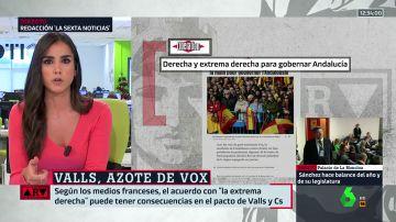 La prensa francesa se hace eco del pacto para gobernar Andalucía