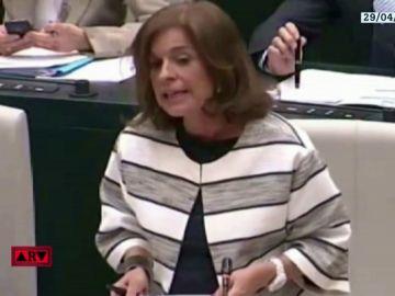 """Así justificó Ana Botella la venta de 1860 viviendas protegidas a un fondo buitre: """"Las condiciones de los contratos no cambian, sólo cambia el casero"""""""