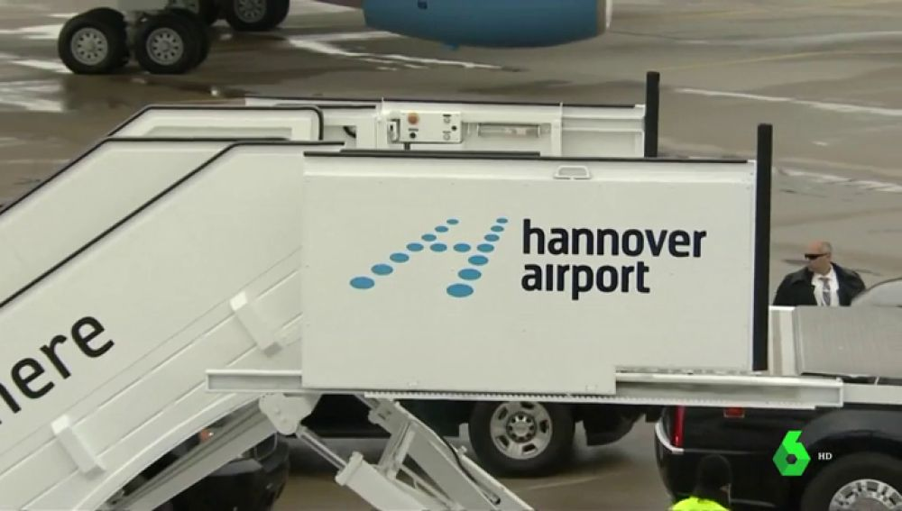 Cancelan todos los vuelos en el aeropuerto de Hannover por una alerta de seguridad
