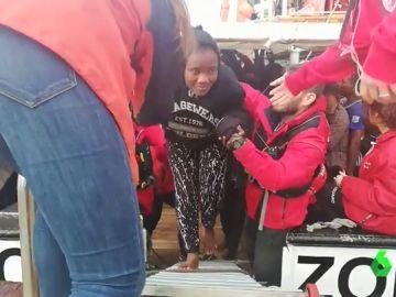Todos los migrantes rescatados por Open Arms han solicitado asilo en España