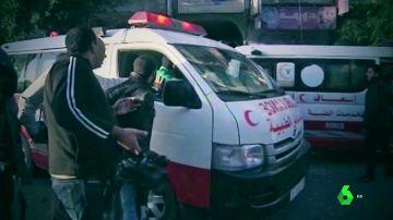Imagen de un periodista detenido