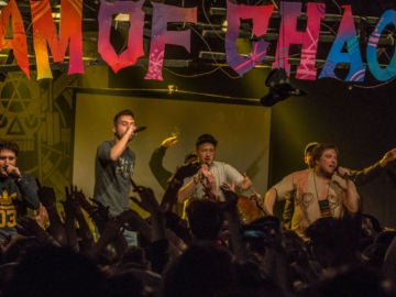 Chaostruppe en concierto
