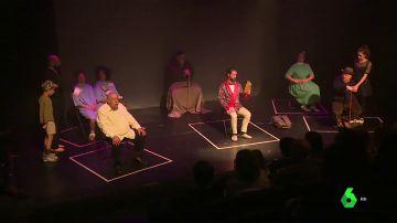 'Sintecho' protagonizan una obra de teatro en Madrid