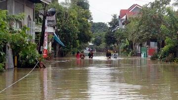 Imagen de las inundaciones en Filipinas