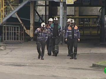 Mineros en Asturias