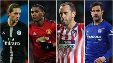 Jugadores que terminan contrato en 2019