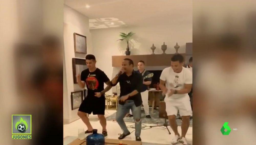 El duelo de baile entre James Rodríguez y Teo Gutiérrez