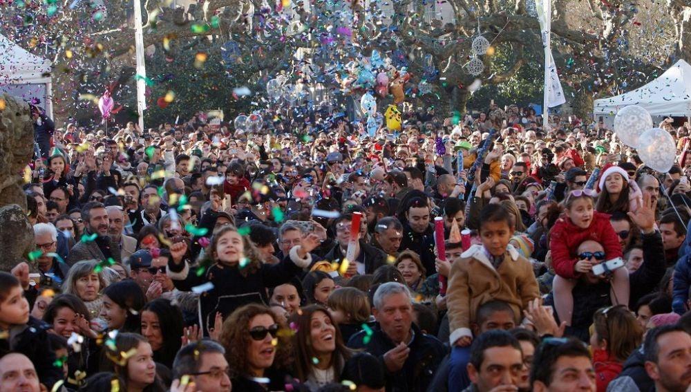 Celebración de las preuvas en Villagarcía de Arosa