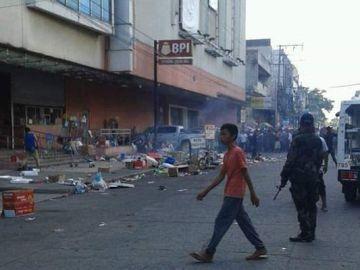 Explosión en un centro comercial de Tailandia