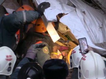 Bebé rescatado en Rusia