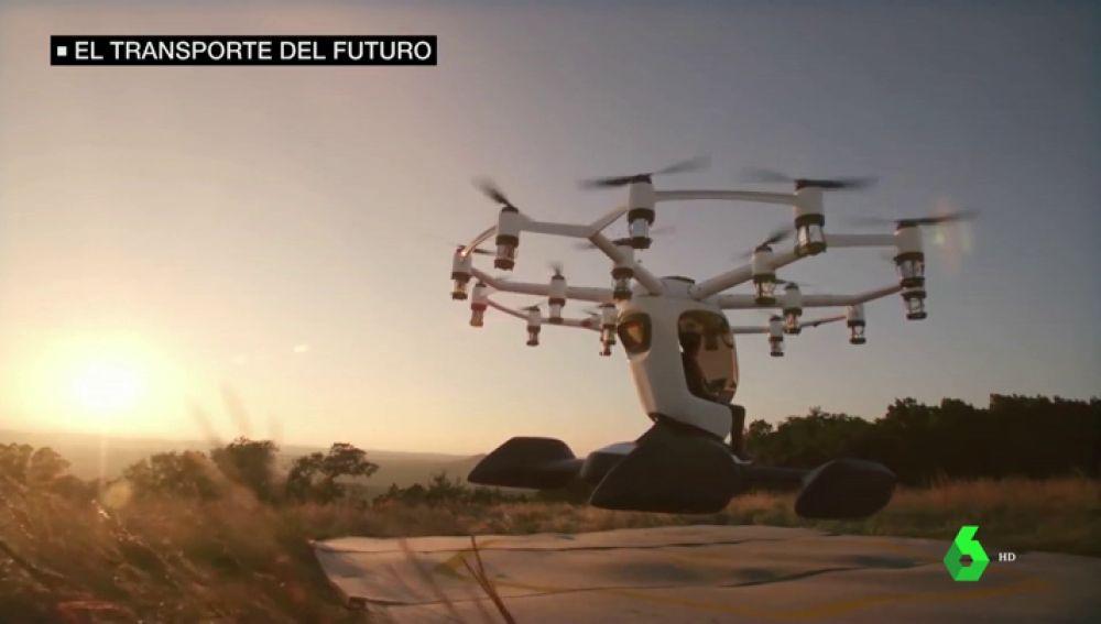 Prototipo de coche volador