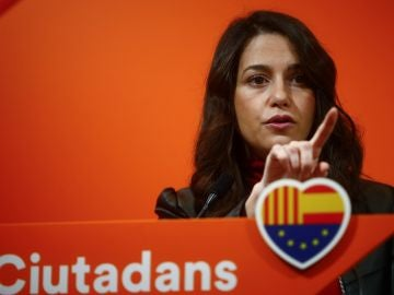 La líder de Ciudadanos en Cataluña, Inés Arrimadas.