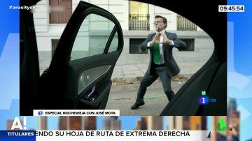José Mota en la piel de Rajoy, Casado o Pablo Iglesias: repasamos los mejores golpes del humorista en Nochevieja