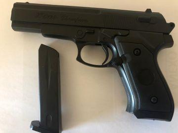 Imagen de la pistola de juguete.