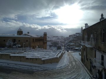 Ola de frío en Italia