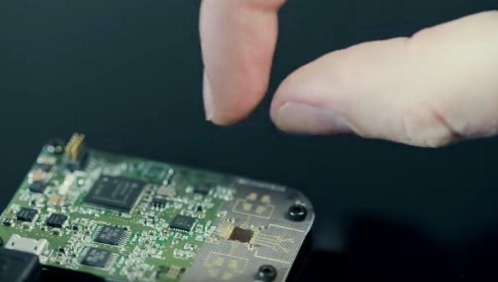 El Proyecto Soli, de Google, permite manejar dispositivos con gestos