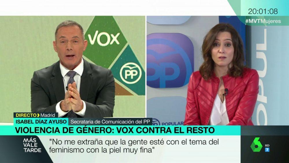 Isabel Díaz Ayuso, secretaria de Comunicación del PP