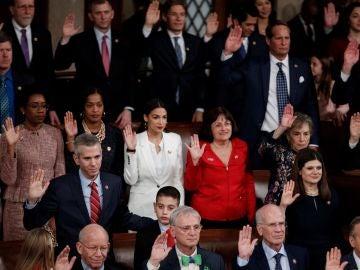 Nancy Pelosi se convierte en la nueva presidenta de la Cámara Baja de EEUU