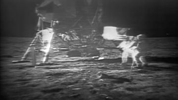 Se cumple medio siglo desde que el hombre pisó la luna