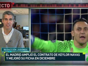 El Madrid renovó a Keylor hasta 2021 por su trayectoria