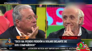 Jorge D'Alessandro y Eduardo Inda