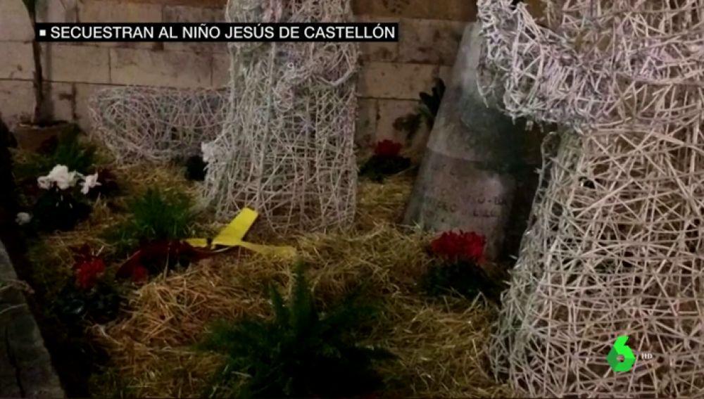 REEMPLAZO | Secuestran al niño Jesús del Belén de Castellón: las Brigadas Antifascistas piden como rescate la libertad de los políticos presos del procés