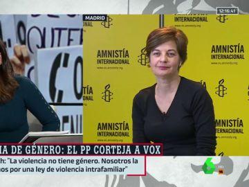 Entrevista a Virginia Álvarez, de Amnistía Internacional