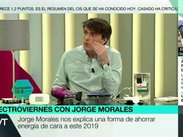 El experto en energía, Jorge Morales de Labra