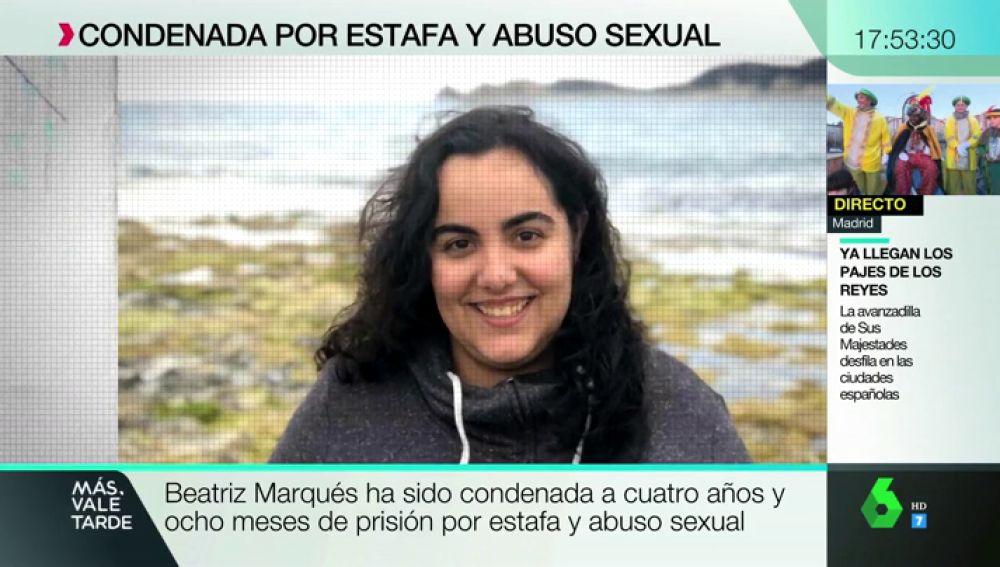 Beatriz Marqués Muñiz, una joven valenciana de 22 años