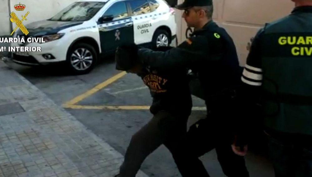 Uno de los detenidos por la agresión sexual en Callosa (Alicante)