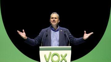 El secretario general de Vox, Javier Ortega Smith