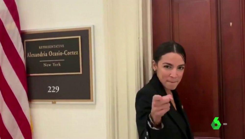 6b5e69dff7d9 ¡Escándalo, Alexantra Ocasio sabe bailar!: el vídeo fallido con el que la  derecha de EEUU quiso hundir a una congresista | LA SEXTA TV - NOTICIAS