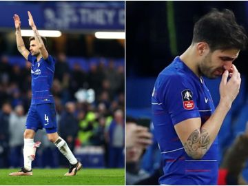 Cesc se despide de Stamford Bridge
