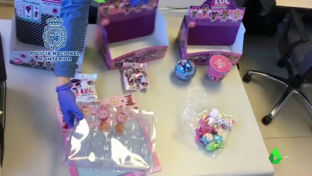 Operación juguetes falsificados