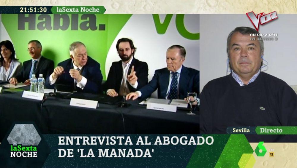 El abogado de 'La Manada', Agustín Martínez