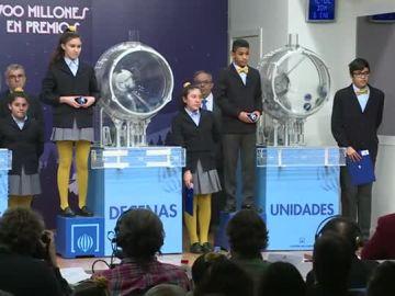 Imagen del Sorteo de la Lotería del Niño 2019