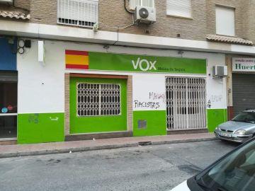 Sede de Vox en Murcia