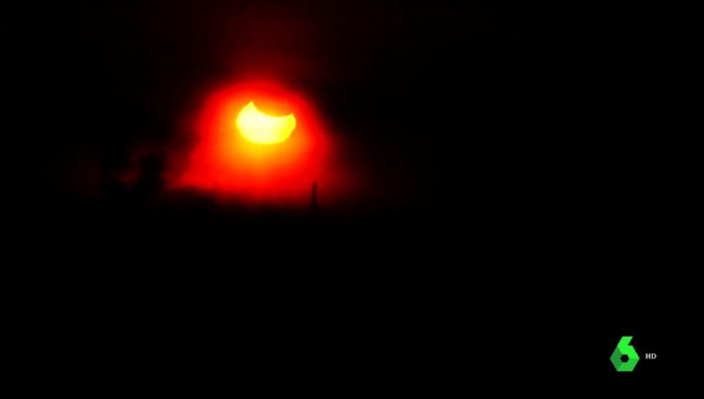 Primer eclipse del año 2019
