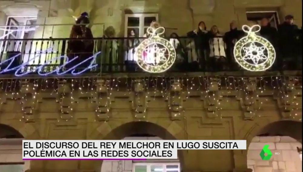 El rey Melchor, en Lugo