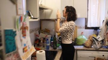 Adriana ha compartido seis pisos en seis años