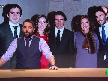 Dani Mateo analiza a la familia Aznar-Botella