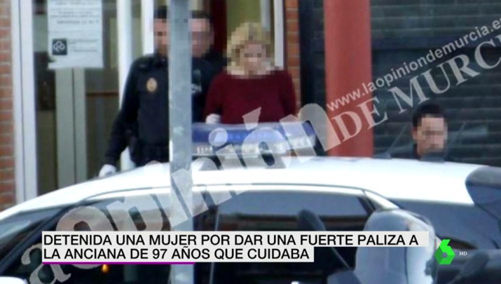 Detención a una mujer en Murcia